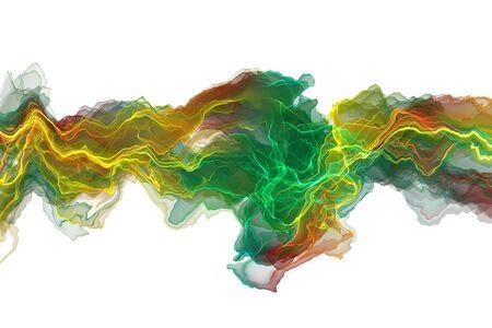 Abstract ink lines background Banco de Imagens