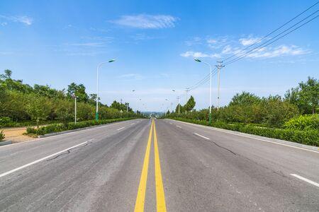 Paysage d'autoroute