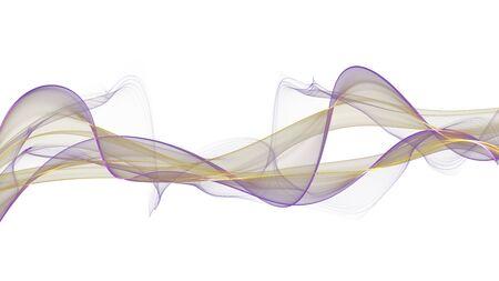 Abstract ink line art background Standard-Bild - 136943599