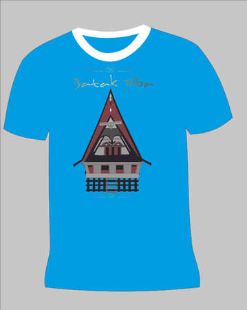 sumatra: t-shirt Illustration