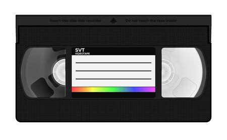 Vhs video casette Ilustração