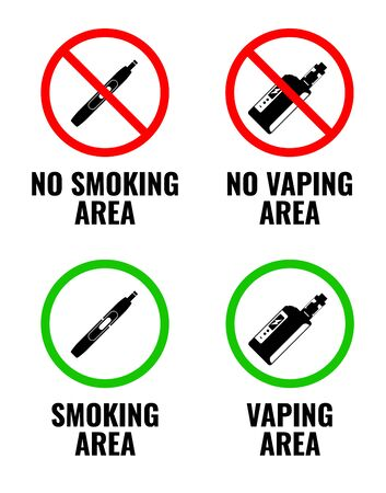 No vaping, No smoking. Vaping is allowed and smoking is allowed.