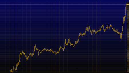 bar chart of stock market investment trading, stock exchange price pattern chart. Stock analyzing. Market analysis. 스톡 콘텐츠