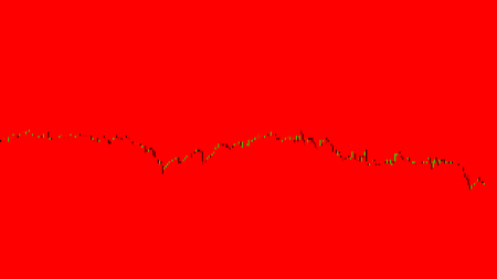 Abstract financial trading graphs. Background with currency Candlestick schedule. Stock market chart uptrend downtrend. Market Analyze. Bullish Bearish point. Duotone color. Imagens