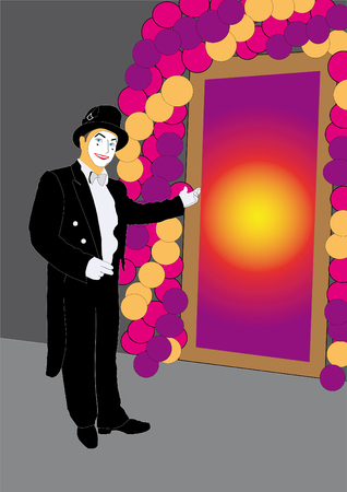 mime: Mime invites at mysterious door