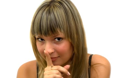 Do not talk! Stock Photo - 4680790