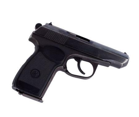 Black russian pistol of Makarov