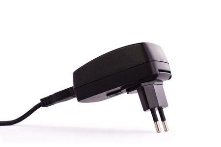 Electrical plug on white background Stock Photo - 5271430