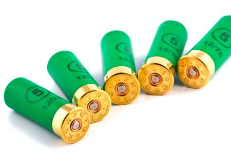 Hunting cartridges for shotgun 12 caliber Stock Photo - 5528728