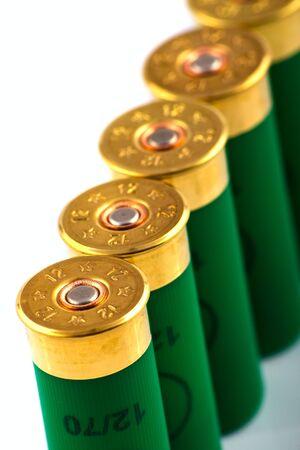 Hunting cartridges for shotgun 12 caliber Stock Photo - 5528726