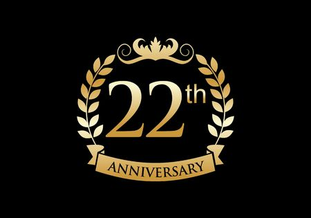 22th, anniversary celebration luxury