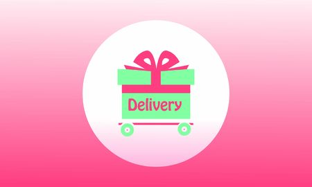 Delivery logo fast shipping, delivery service logo Stock Vector - 129793334