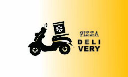 Delivery logo fast shipping, delivery service logo Foto de archivo - 129793333