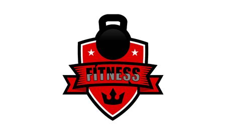 Sport Fitness club creative concepts. Gym club logotype. Vector