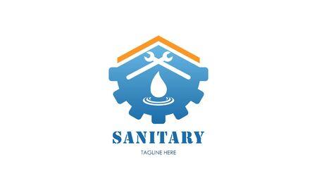 Sanitary ware logo design of icon vector illustrations Logo