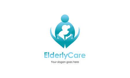 Elderly care logo design best logo