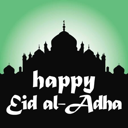 greeting: Eid Al Adha Greeting Illustration
