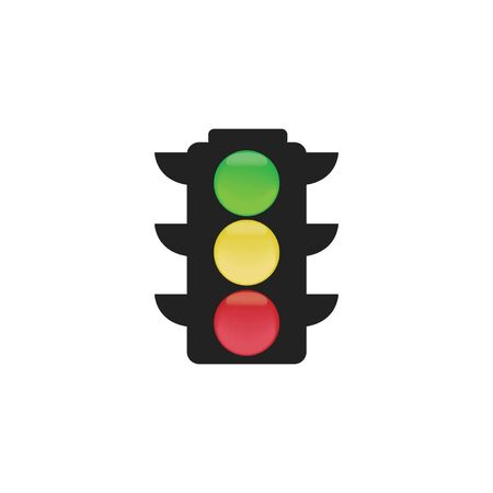 toll: Traffic Light Illustration