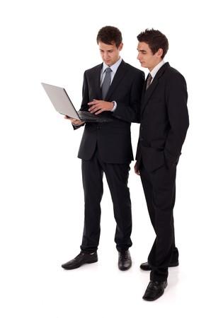 laptop presentation Stock Photo - 7421696