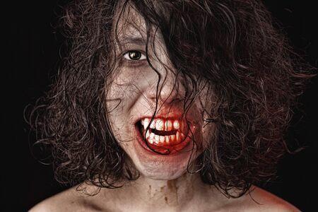 possessed: Portrait of a female vampire