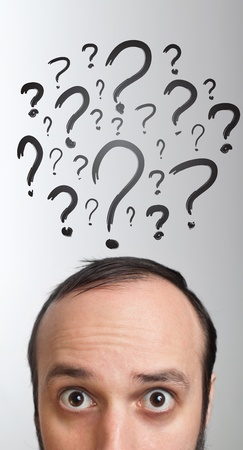 unsolvable: Young white Caucasian male adult has way too many questions in his head