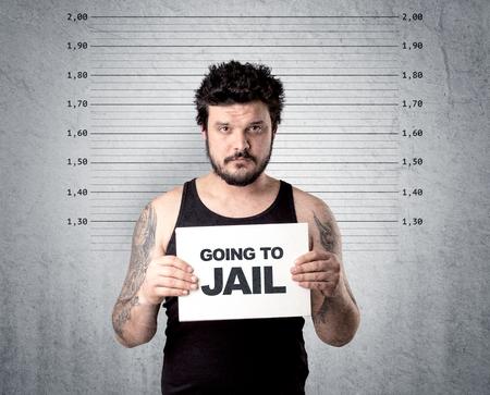 Thief in jail.