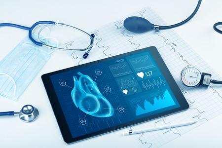 Modern medical technology concept Stockfoto