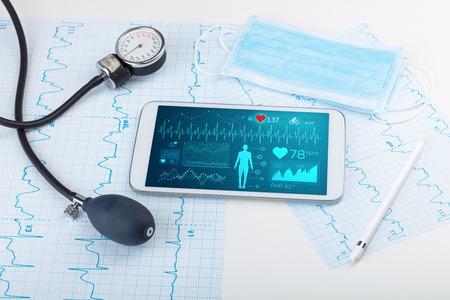 Diagnosi diretta con applicazione medica