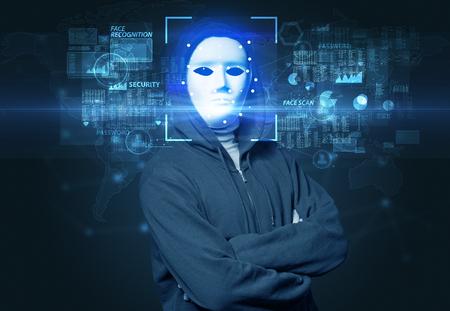 Verificación biométrica. Reconocimiento facial con varios puntos