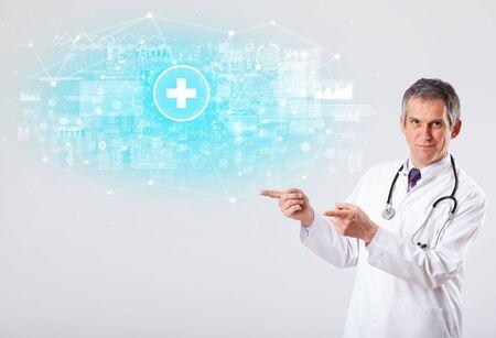 Professional researcher investigate the results