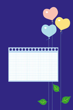 congratulatory: The vector frame of a congratulatory card with a dark blue background. Illustration