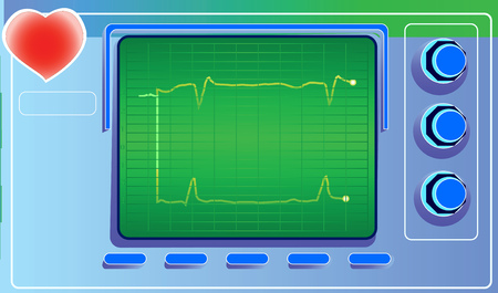 cardiograph: The device for measuring heart rate and heart.