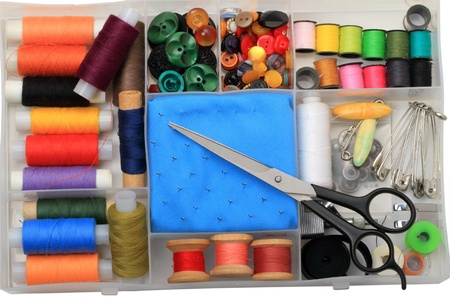 kit de costura: Kit de accesorios para coser en casa
