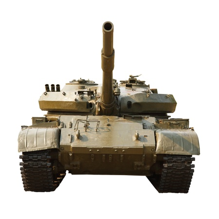 Soviet tank T-72 Ural - main battle tank production of the USSR.  photo