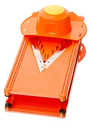 slicer: Vegetable slicer isolated on white background