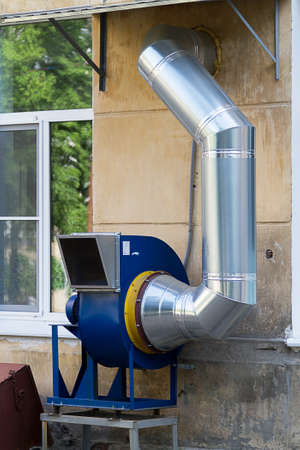 the cochlea: Powerful exhaust ventilation system for the premises