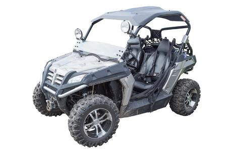 wheeling: Modern quad  isolated on white background