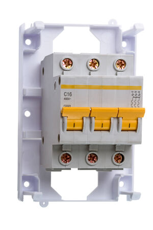 disconnection: 16 Amp Circuit Breaker three phase