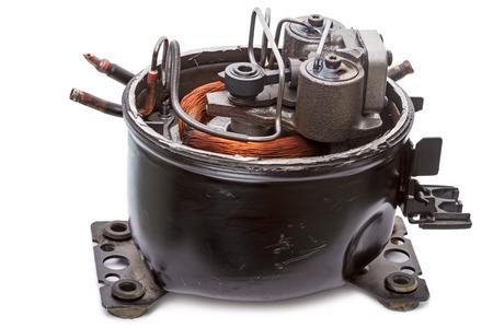 Repair refrigerator compressor motor
