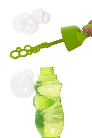 supercharger: Bubble blower  isolated on white background