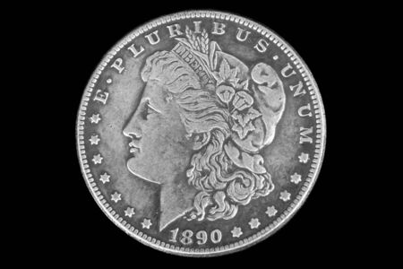 The obverse depicts the head of Liberty wearing a Phrygian cap with a crown, a tiara and a circular wreath of twigs of cotton and wheat ears.