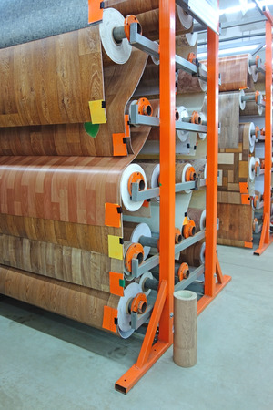 floor coverings: Store different types of floor coverings
