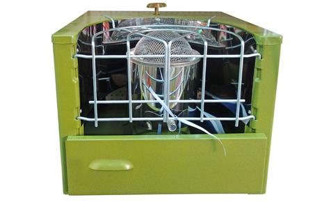 primus: Heater solyarogaz operates on kerosene or solar oil isolated on white background