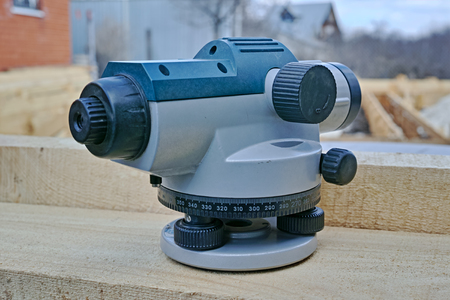 A theodolite is a precision instrument for measuring angles in the horizontal and vertical planes.