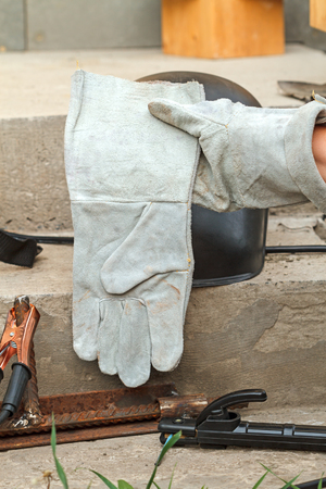 Kragi - welder's gloves. Protective equipment