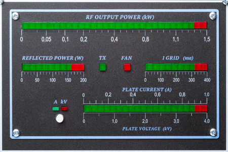 Homemade LED panel power amplifier