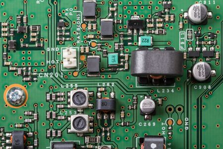 Circuit board transceiver with electronic components. Technological background