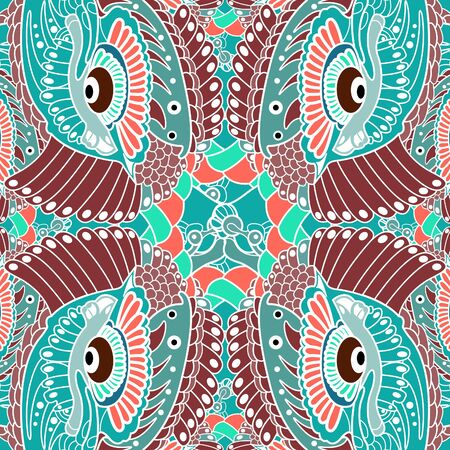 pattern seamless, vector decor design Vector
