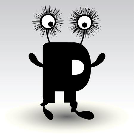 alfabético: letra r, design engra
