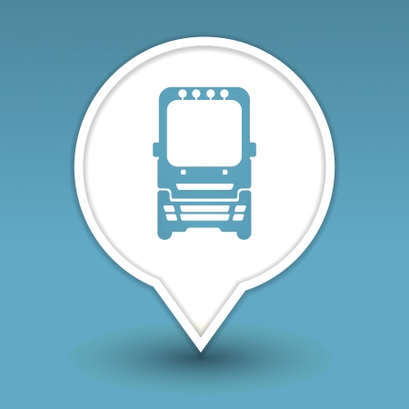 bus, icon for web Stock Vector - 18909003